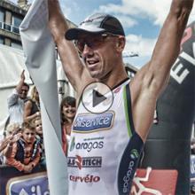 Frederik Van Lierde wint 1/2 Triathlon Deinze 2014