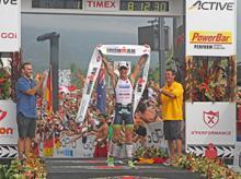 Frederik Van Lierde wint Ironman Hawaï 2013